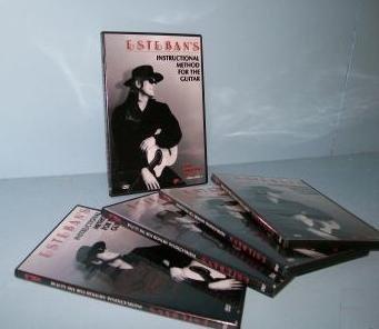 Esteban's Guitar Instructional DVD's - Vol 1-5 Esteban