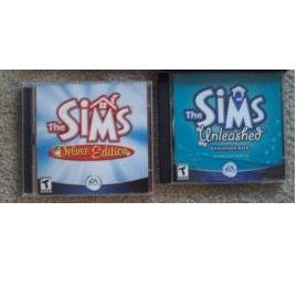 The Sims Deluxe Edition Plus Sims Unleashed Exp Pack (PC Games)
