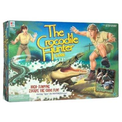 The Crocodile Hunter Game by Hasbro® Steve and Terri Irwin