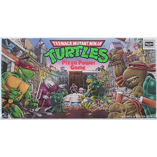 Teenage Mutant Ninja Turtles Pizza Power Game by Random House