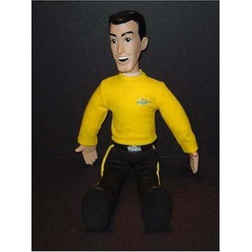 "The WIGGLES Speak & Sing  Talking / Singing Greg Yellow Shirt 15"" Inch Toy / Doll"