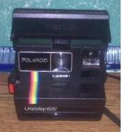 Polaroid One Step 600 Land instant camera
