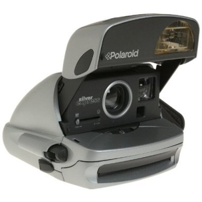 Polaroid One Step Silver Express Instant Camera