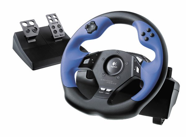 Logitech Driving Force for Playstation 2 & 3 with Floor Pedals