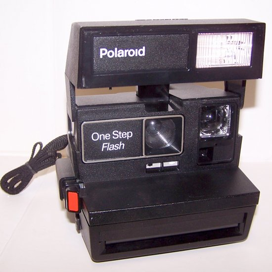 Polaroid One Step Flash Camera Excellent Condition