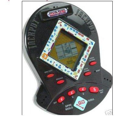 Virtual Slot Machine Handheld Game Monopoly Jackpot 1999 Hasbro