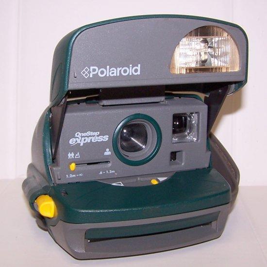 Polaroid One Step Express Instant 600 Camera, Hunter Green