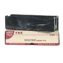 16 TDC 30 Selectray Econo-Type Slide Tray- Boxed -