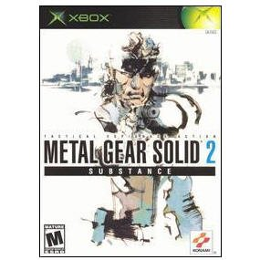 Metal Gear Solid 2 Substance Xbox by Konami Games Complete