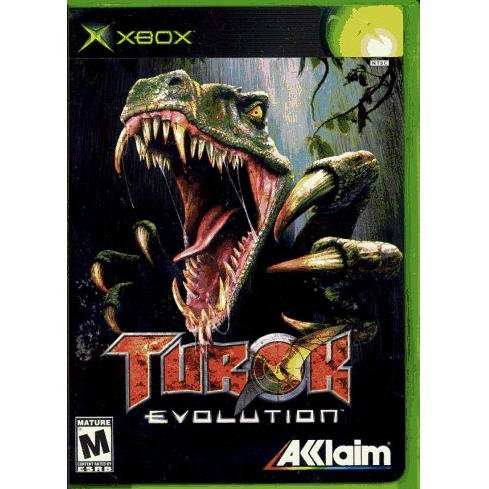 Turok Evolution Xbox by AKlaim Games Complete