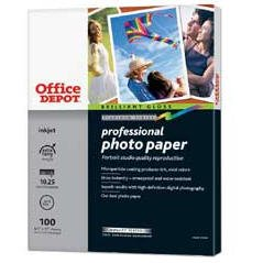 Office Depot 4 x 6-inch Professional Photo Paper (100 Sheets)