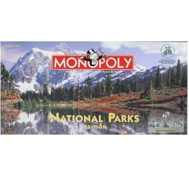 National Parks Edition Monopoly Game Factory Sealed