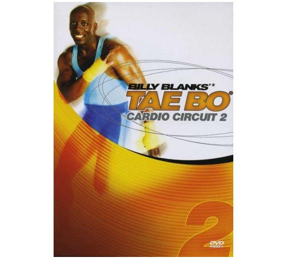 BILLY BLANKS TAE BO CARDIO CIRCUIT 2 DVD NEW SEALED