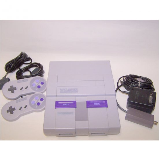 Super Nintendo System Very Good condition! www.bellarain.ecrater.com