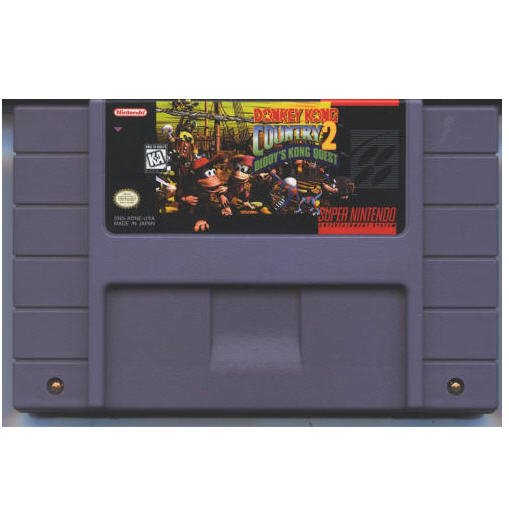 Donkey Kong Country 2: Diddy's Kong Quest Super Nintendo Game