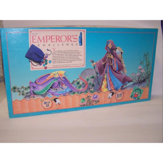 Rare Emperor's Challenge Board Game by Discovery Toys 1986