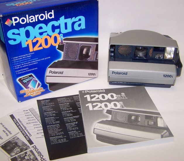 Polaroid Spectra 1200i Instant Camera Complete in original box