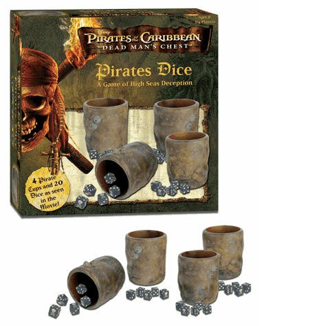 Pirates of the Caribbean Dead Man's Chest  Pirates Dice: A Game of High Seas Deception