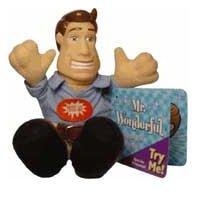 TALKING MR. WONDERFUL Plush Toy KEYCHAIN  with Tag