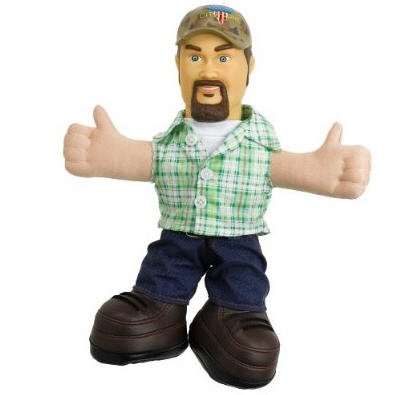 Larry The Cable Guy - Blue Collar Comedy Guys Talking Doll