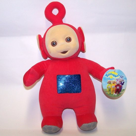 "Teletubbies 14"" Po Plush Doll  by Eden Ragdoll (1998)"