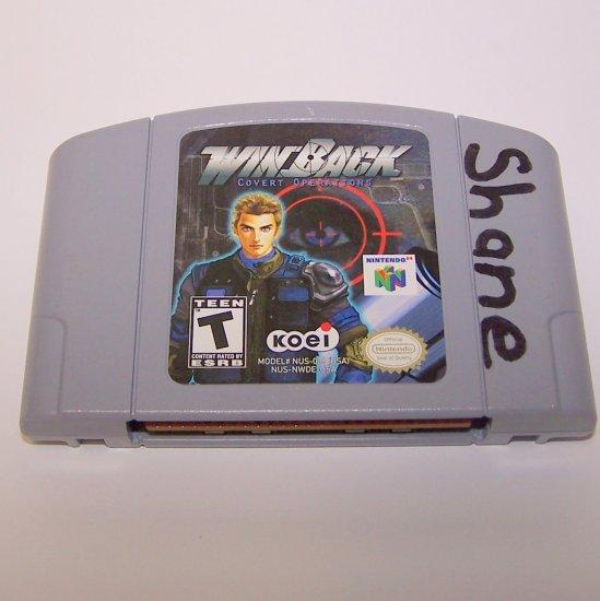 WinBack Covert Operations ~ N64 Nintendo 64