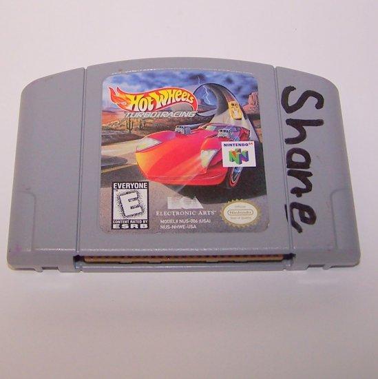 Hot Wheels Turbo Racing  ~ N64 Nintendo 64