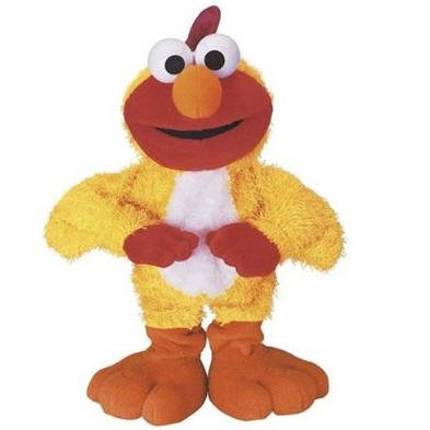 Sesame Street Chicken Dance : Elmo dances and sings the Chicken Dance!