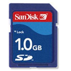 SDSDB-1024-A10 SanDisk 1.0GB Standard SD Memory Card