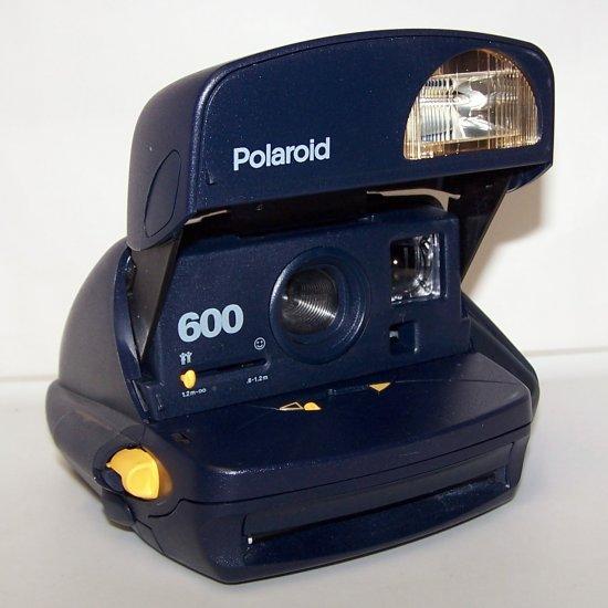 Polaroid 600 Instant Camera Blue