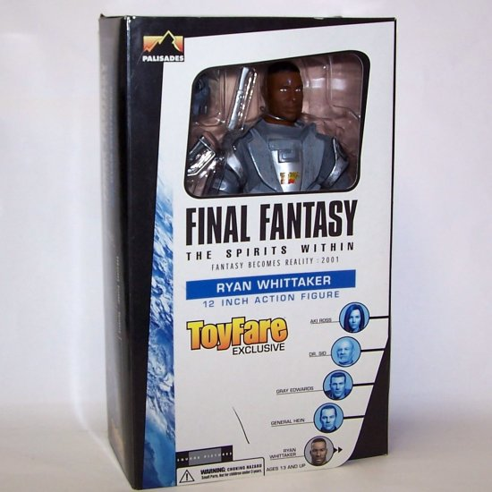 Final Fantasy Ryan Whittaker Action Figure  in USMF Military Uniform
