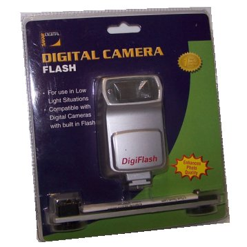 Digital Camera Flash DigiFlash Sakar Digital cv2100