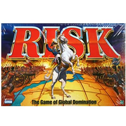 Risk 1998 Board Game With Army shaped Pieces New