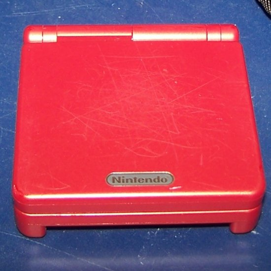 Nintendo Game Boy Advance SP RED GBA SP