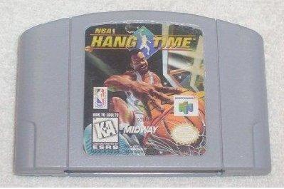 NBA Hang Time N64 Nintendo 64 Game Cartridge