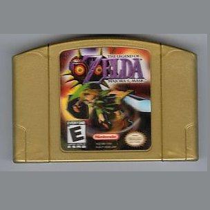The Legend of Zelda: Majora's Mask N64 Nintendo 64 Game Cartridge