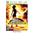 Dance Dance Revolution Universe Xbox 360 Konami rated E