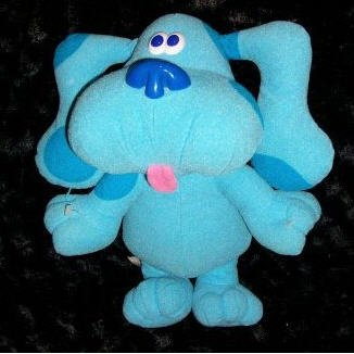 Sing Along Blue Electronic Blues 1997 Clues, Toy by  Tyco,