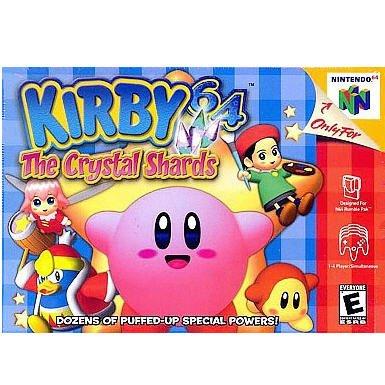 Kirby 64 The Crystal Shards N64 Nintendo 64 Game Cartridge