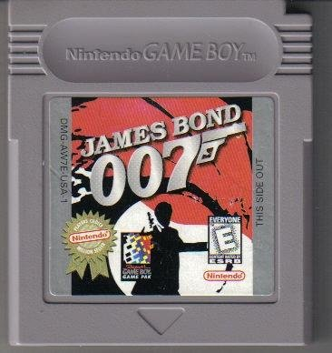 James Bond 007 Nintendo Game boy