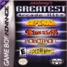 Midway's Greatest Arcade Hits Defender, Joust, Sinistar, Robotron 2084 Nintendo Game boy Advance