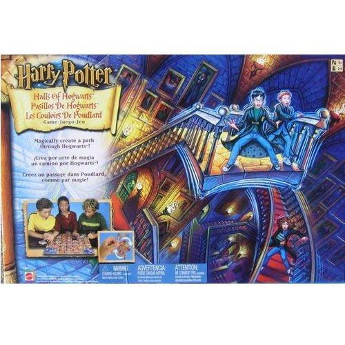 Harry Potter Halls of Hogwarts Board Game by Mattel