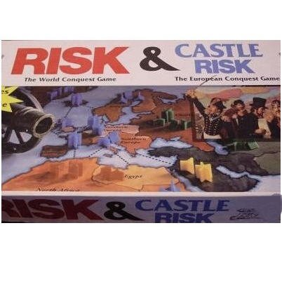 Risk Board Game/castle Risk Board Game 2 Board Games in 1
