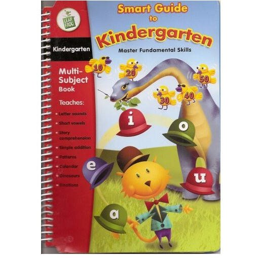 Smart Guide to Kindergarten Master Fundamental Skills  Interactive Book & Cartridge by Leapfrog