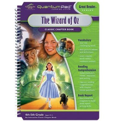 Quantum Pad Learning System: The Wizard of Oz  Interactive Book & Cartridge by Leapfrog