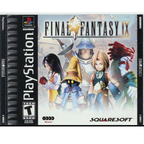 Final Fantasy IX  by Squaresoft playstation game