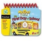 LeapFrog My First LeapPad Educational Book: My First Day of School / What Will I Be?