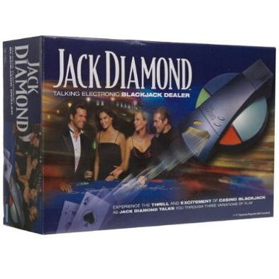 Jack Diamond Talking Electronic Blackjack Dealer