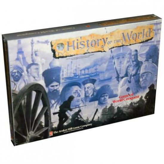 History of the World Game of World Conquest Avalon Hill 1993