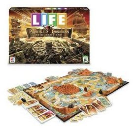 Pirates of the Caribbean 3: The Game of Life by Milton Bradley